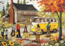 Expo67 Souvenir Domestic Scene Jigsaw Puzzle