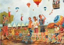 In Full Flight Carnival Jigsaw Puzzle