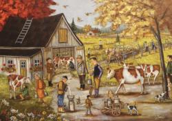 Family Farm Farm Jigsaw Puzzle