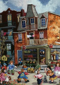 The Grocery Store People Jigsaw Puzzle