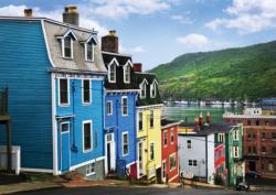 St-John's, Newfoundland Seascape / Coastal Living Jigsaw Puzzle