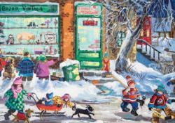 Vintage Bazaar Winter Jigsaw Puzzle