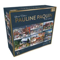 Pauline Paquin Special Edition - 7 in 1 Christmas Jigsaw Puzzle