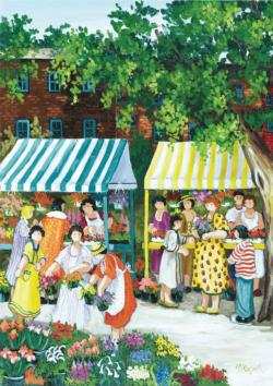 At the Market People Jigsaw Puzzle