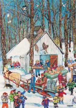 Sugar Shack Cartoons Jigsaw Puzzle