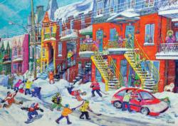School break Snow Jigsaw Puzzle