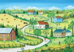Country Summer Summer Jigsaw Puzzle