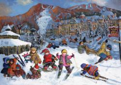 Mountain Lodge Sports Jigsaw Puzzle