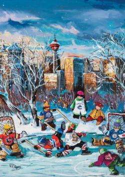 Calgary Sports Jigsaw Puzzle
