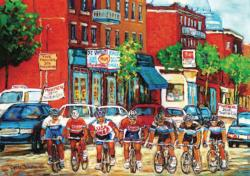Tour De L'Ile People Jigsaw Puzzle