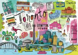 Toronto Collage Jigsaw Puzzle