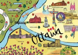 Ottawa - Scratch and Dent Collage Jigsaw Puzzle
