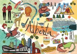 Alberta National Parks Jigsaw Puzzle