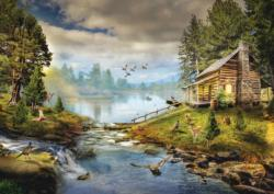 Enchanting Hideaway Cottage / Cabin Jigsaw Puzzle