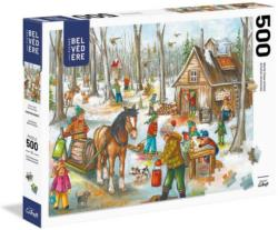 Sweeten Your Beak Snow Jigsaw Puzzle