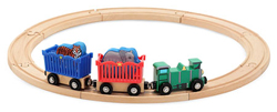 Zoo Animal Train Set Toy