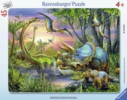 Dinosaurs at Dawn Dinosaurs Tray Puzzle