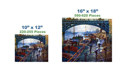 The Coal Carrier Impressionism Wooden Jigsaw Puzzle