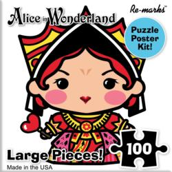 Queen Of Hearts Movies / Books / TV Children's Puzzles