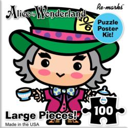 Mad Hatter Movies / Books / TV Children's Puzzles