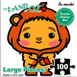 Cowardly Lion Movies / Books / TV Children's Puzzles