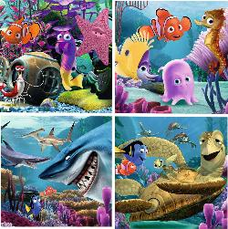 The Friends (Finding Nemo) Collage Children's Puzzles