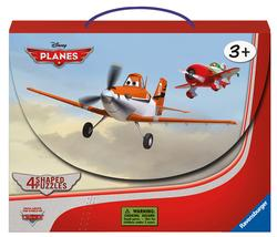 In the Air Puzzle Suitcase Planes Shaped