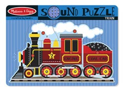 Sound Puzzle - Train Trains Children's Puzzles