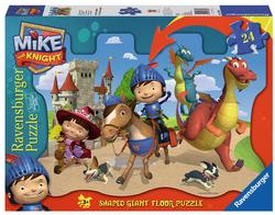Mike and his Friends (Mike the Knight) Cartoons Children's Puzzles