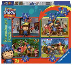 4-in-a-box (Mike the Knight) Movies / Books / TV Children's Puzzles