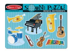 Musical Instruments Music Children's Puzzles