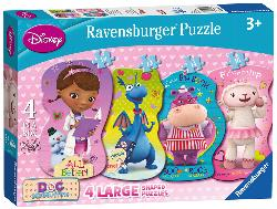 Helping Friends (Doc McStuffins) Movies / Books / TV Children's Puzzles