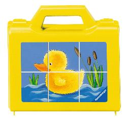 Animals at the Pond Baby Animals Children's Puzzles