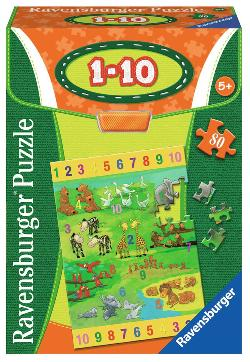 Numbers 1-10 Math Jigsaw Puzzle