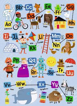ABC Language Arts Children's Puzzles