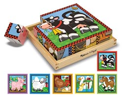 Farm Cube Puzzle Farm Animals Block Puzzle