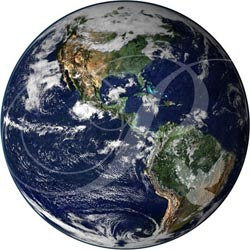 Earth from Space Wooden Jigsaw Puzzle