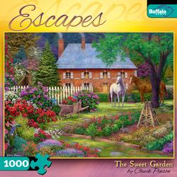 The Sweet Garden - Scratch and Dent Garden Jigsaw Puzzle