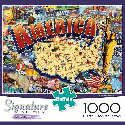 Vintage America (Signature Collection) United States Jigsaw Puzzle