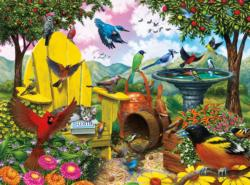 Hidden Birds Birds Jigsaw Puzzle