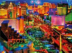 Viva Las Vegas Night Jigsaw Puzzle
