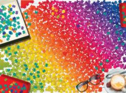 Puzzle Rainbow Abstract Jigsaw Puzzle