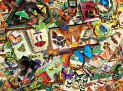 The Butterfly Collector Butterflies and Insects Jigsaw Puzzle