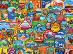 National Park Patches National Parks Jigsaw Puzzle