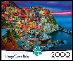 New Cinque Terre Seascape / Coastal Living Jigsaw Puzzle