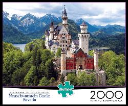 Neuschwanstein Castle, Bavaria Mountains Jigsaw Puzzle