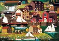 The Cambridge (Art & Photo) Folk Art Jigsaw Puzzle