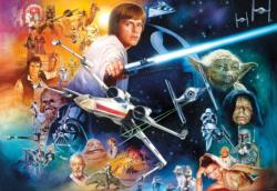 The Force is Strong With This One (Art & Photo) - Scratch and Dent Star Wars Jigsaw Puzzle