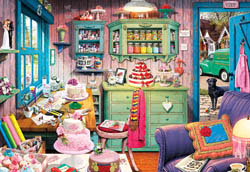 Cake Shed Sweets Jigsaw Puzzle
