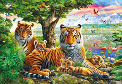 Hidden Tigers Nature Jigsaw Puzzle